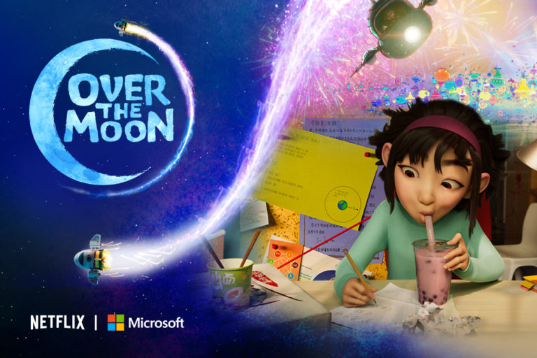 Over the Moon promo