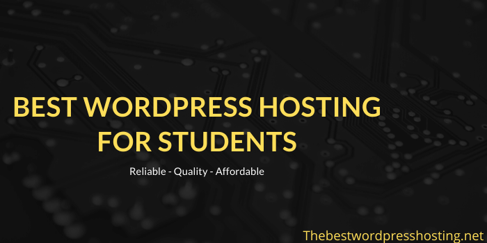 Best WordPress Hosting For Students